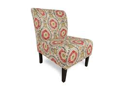 beautiful patterned accent chair in interior design for home with