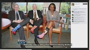 colorful socks honor ex president u0027s birthday youtube