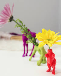 bud vase garland diy animal bud vases lovely indeed