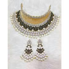 big choker necklace images Golden american big choker necklace sets ladies choker set jpg