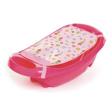 babies r us garden step by step bath tub with sling pink
