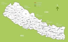 Map Of Nepal In Asia by Map Of Napal My Blog