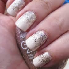 easy nail art glitter easy gradient glitter nail art stylegawker