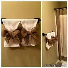 bathroom towel decorating ideas best 25 decorative bathroom towels ideas only on inside