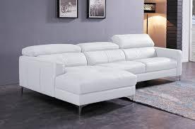 canapé d angle de luxe canapé d angle de luxe 5 places argo blanc angle gauche mobilier