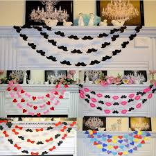 cheap garlands for weddings mustache sweetheart wedding garlands custom made color cheap in