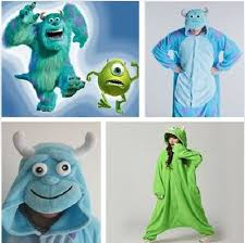 sully costume free shipping new monsters mike wazowski sully