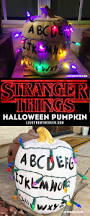 Stranger Things Pumpkin And Halloween Ideas Strange Things