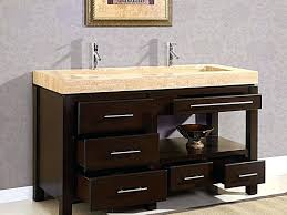double trough sink compact bathroom size of bathroom sink above