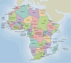 mapa de africa la rosa de los vientos mapa político de africa