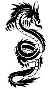 dragon tribal tattoo designs popular tattoo design clip art