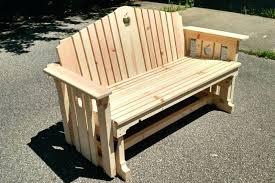 Wood Patio Chairs Porch Glider Porch Gliders Wood Patio Chairs Patio Glider Bench