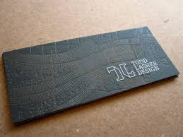 Card For Business Cards Maps Landscape Textures Business Card For Todd Lasher The