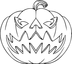 pumpkin halloween coloring pages archives gallery coloring page