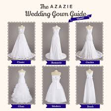 wedding dress guide azazie wedding gown guide azazie