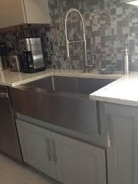 giagni fresco stainless steel 1 handle pull kitchen