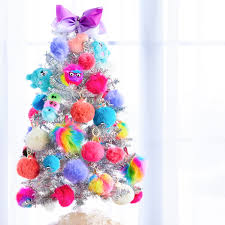 decorate your tree with our assortment of pom poms