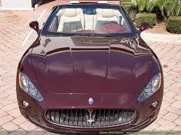 maserati purple 2011 maserati gran turismo cabriolet