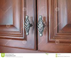 hardware for cherry cabinets cabinet hardware stock image image of hardware scroll