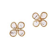 flower stud earrings stud earrings eleven six