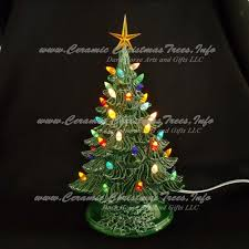 ceramic christmas trees u2013 happy holidays