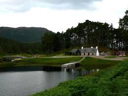 glen affric estate the glen affric estate keeper s cottage scotland in view