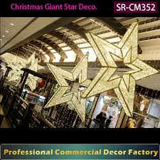 custom commercial large hanging decoration for