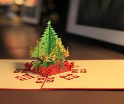 happy garden tree snowflake pop up card nepsource