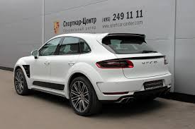 porsche cayenne 2016 white white porsche macan ursa by topcar for sale autoevolution