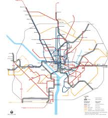 Metro Bus Routes Map by Proposed Supplemental Metrobus Service Wmata