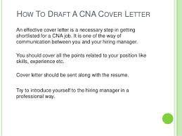 sample cover letter for cna job cna cover letter for resume cna