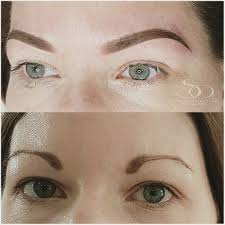 semi permanet makeup microblading before and after