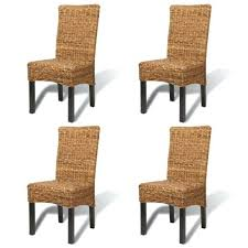 Target Dining Chair Rattan Dining Chairs Brown Handmade Rattan Dining Chair Set 4