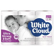 White Cloud Bathroom Tissue - white cloud 2 ply ultra strong u0026 soft toilet paper walgreens