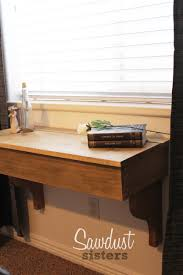 Diy Floating Computer Desk Diy Floating Desk Vanity With Storage Sawdust