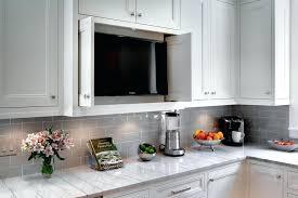 under cabinet mount tv for kitchen hideaway tv cabinet outstanding under cabinet for kitchen under