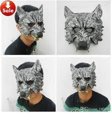 where to buy masquerade masks grey silver wolf mask scary party mask masquerade mask