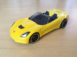 hotwheels corvette stingray julian s wheels 14 corvette stingray convertible 2015