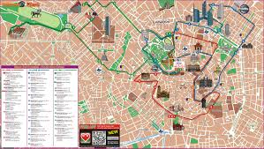 Emirates Route Map by Milan Hop On Hop Off Tour Tour Milan
