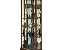 how to arrange a corner china cabinet best corner curio cabinets foryourcorner