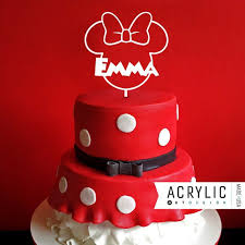 Red Minnie Mouse Cake Decorations 154 Best Minnie Mouse Images On Pinterest 2nd Birthday Mice And