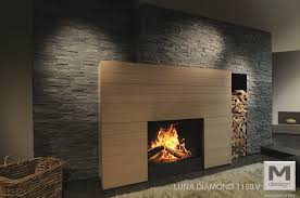 Costruire Un Camino A Legna by Caminetti M Design Diamond Vertical Onor E Borin