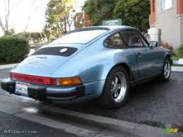 porsche mint green paint code 1981 light blue metallic porsche 911 sc coupe 924586 photo 3