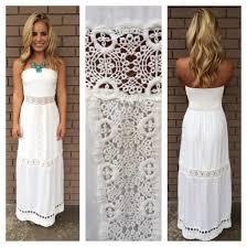 white summer dress summer lace maxi dress all women dresses