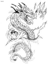 coloring pages tattoos festivals coloring pages year of dragon coloring page festivals