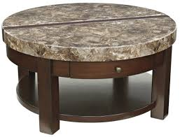 Lower Coffee Table by Kraleene Round Lift Top Cocktail Table From Ashley T687 8
