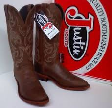 s boots justin justin cowhide cowboy boots 13 collection made