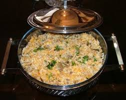 proportion cuisine kheema biryani is rice cooked with minced and spices the