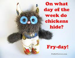 cute u0026 clean friday chicken joke for children featuring an