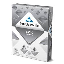 georgia pacific basic copy paper 8 5